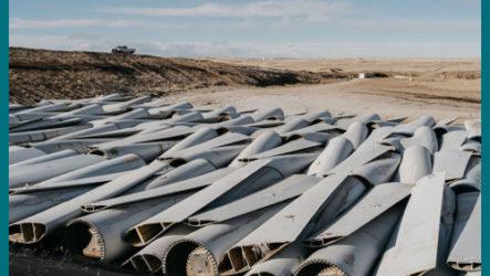 Стеклопластиковые отходы «зеленой» энергетики
